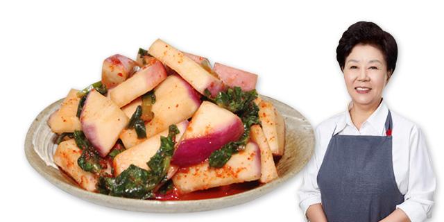 [마음심은] 100%국내산 아삭하고 맛있는 순무김치 2kg