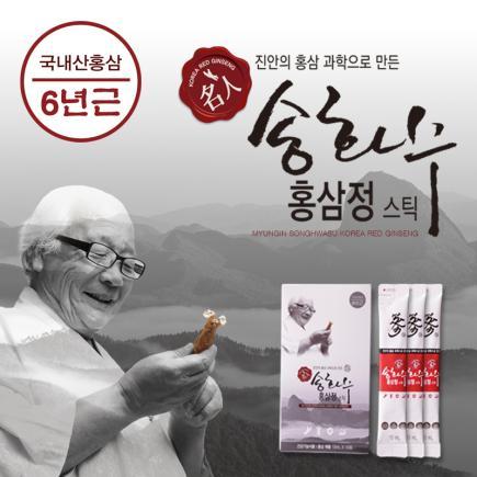 명인 송화수 홍삼정스틱120포