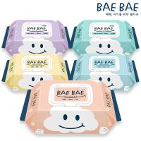 [BAEBAE(베베)] 아기물티슈 프레쉬 80매 캡형 x 10팩