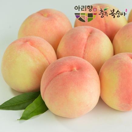 ★특등급 270g이상★ [아리향] 천중도 햇복숭아(3kg+3kg)