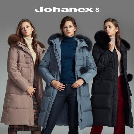[Johanex S] 요하넥스S 폭스퍼 구스다운 코트